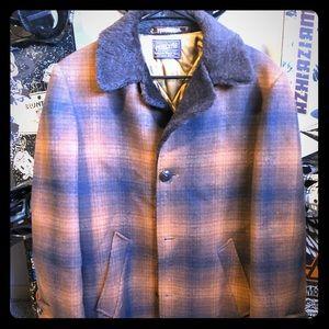 Pendleton winter thick jacket really nice .